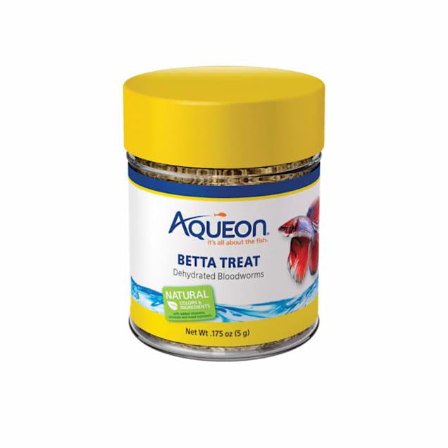 Aqueon Betta Treat Freeze Dried Blood Worms, .175oz. - Carousel image #1