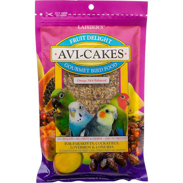 Lafeber's Fruit Delight Avi-Cakes for Parakeets, Cockatiels, Lovebirds & Conures - Carousel image #1