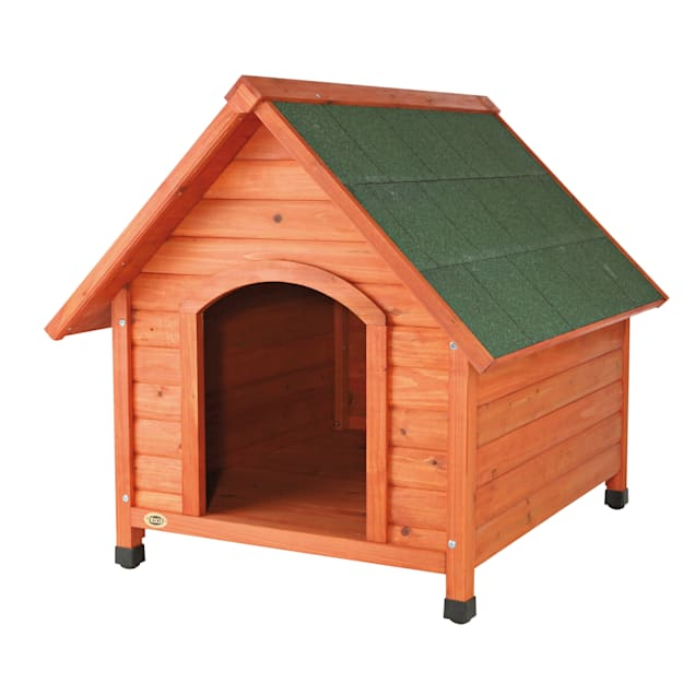 """TRIXIE Natura Pitched Roof Dog House, 33"""" L X 34.25"""" W X 40"""" H, Large - Carousel image #1"""