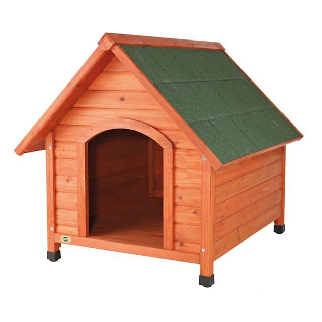 "TRIXIE Natural Log Cabin Dog House, 44"" L X 37.75"" W X 41.25"" H - Carousel image #1"