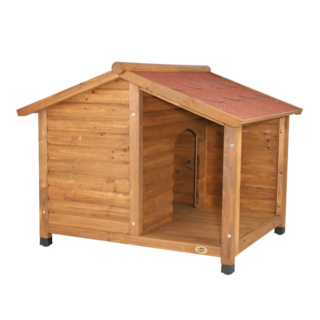"TRIXIE Natura Log Dog House, 51"" L X 39.25"" W X 41.25"" H, Large - Carousel image #1"