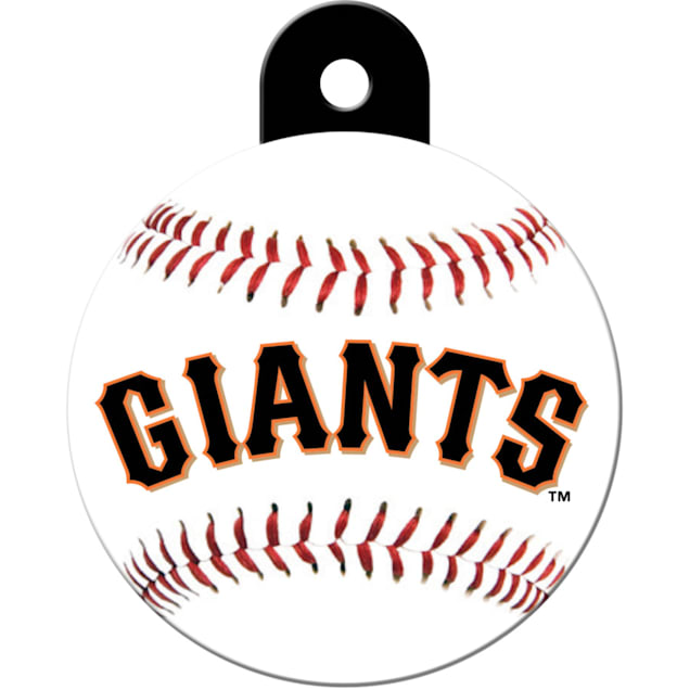 "Quick-Tag San Francisco Giants MLB Personalized Engraved Pet ID Tag, 1 1/4"" W X 1 1/2"" H - Carousel image #1"