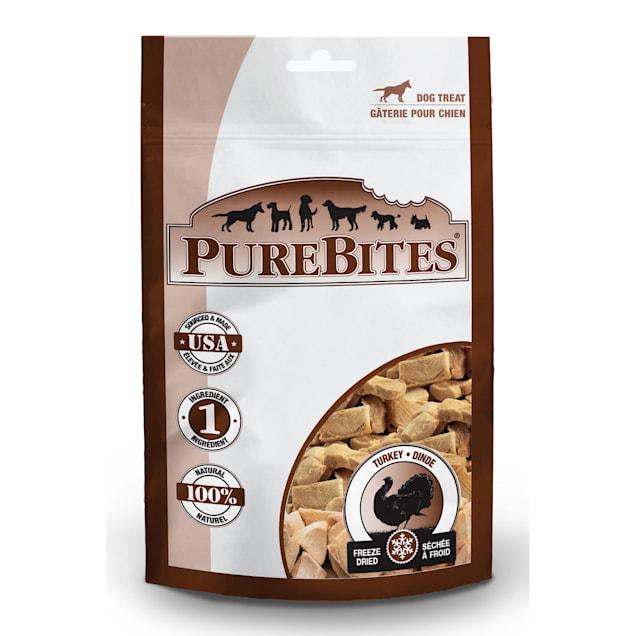 PureBites Turkey Freeze Dried Dog Treats, 1.16 oz. - Carousel image #1