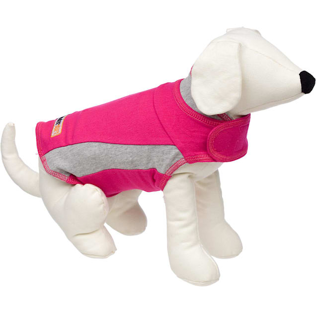 Thundershirt Pink Polo Dog Anxiety Solution, XX-Large - Carousel image #1