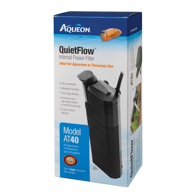 Aqueon QuietFlow 40 Internal Power Filter, up to 40 gallon - Carousel image #1
