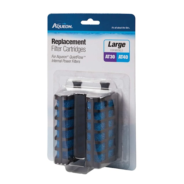 Aqueon QuietFlow Internal Replacement Filter Cartridges, Large, Pack of 2 - Carousel image #1