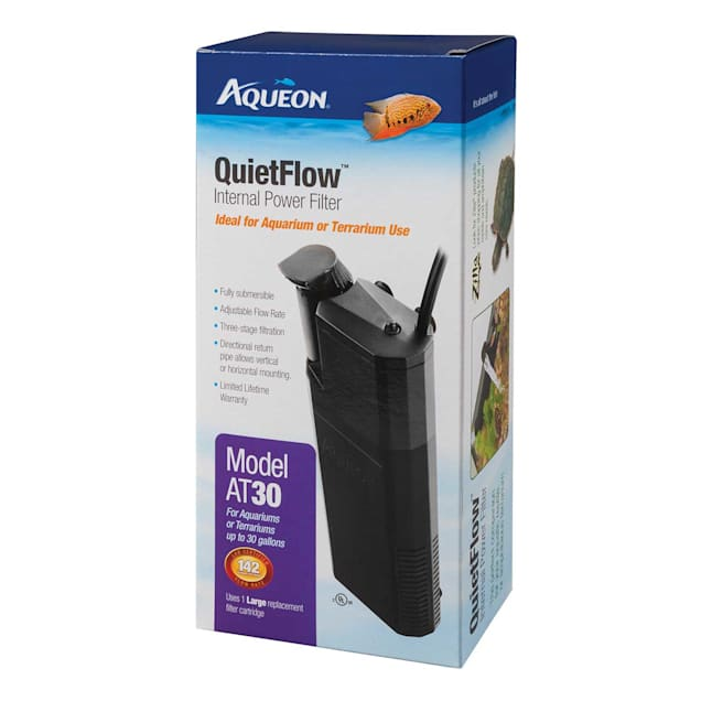 Aqueon QuietFlow 30 Internal Power Filter, up to 30 gallon - Carousel image #1