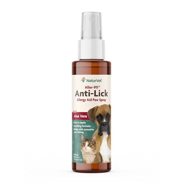 NaturVet Aller-911 Anti-Lick Paw Spray, 8 oz. - Carousel image #1