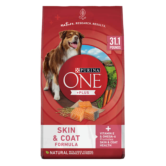 Purina ONE Natural SmartBlend Sensitive Stomach Systems Formula Dry Dog Food, 31.1 lbs. - Carousel image #1
