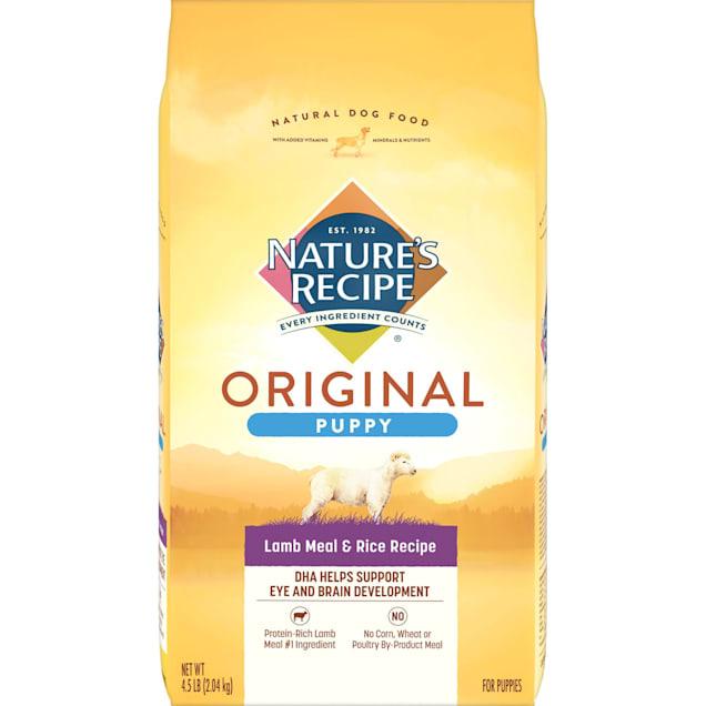 Nature's Recipe Puppy Lamb Meal & Rice Formula, 4.5 lbs. - Carousel image #1