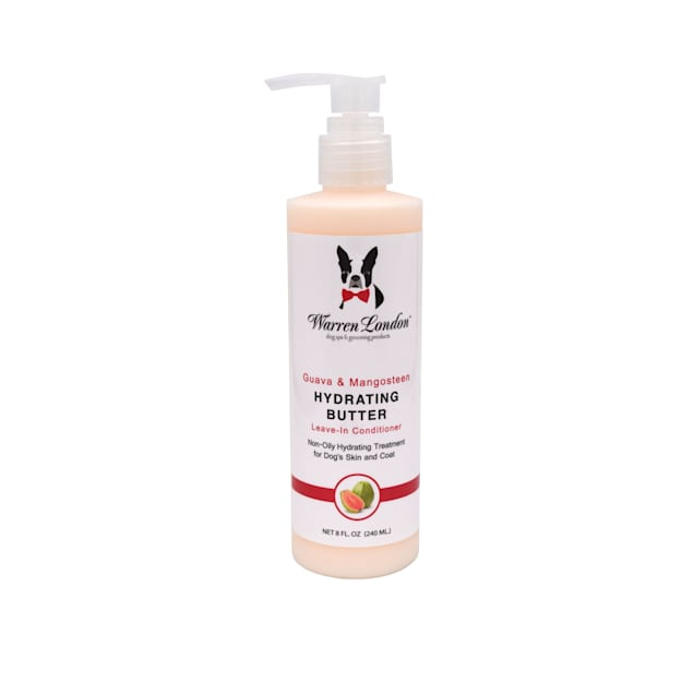 Warren London Guava & Mango Hydrating Butter Leave In Conditioner Lotion for Dogs, 8 fl. oz. - Carousel image #1