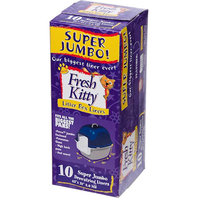 Fresh Kitty Super Jumbo Drawstring Litter Box Liners - Carousel image #1