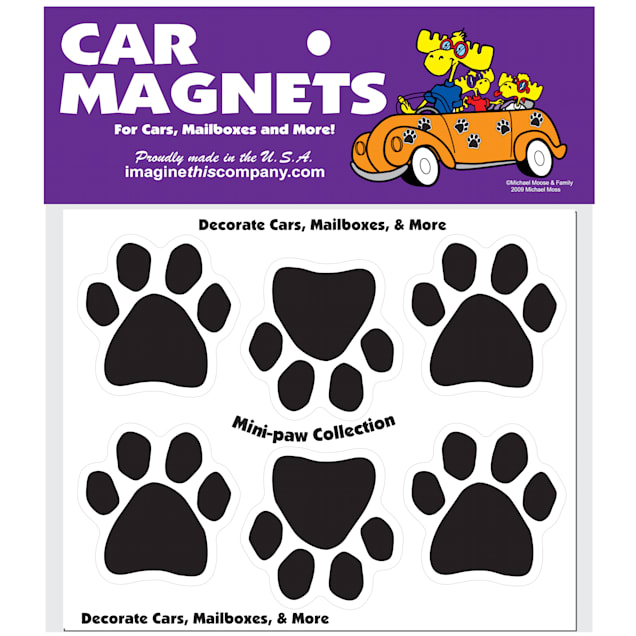 Imagine This Mini Paw Magnets 6 Pack - Carousel image #1