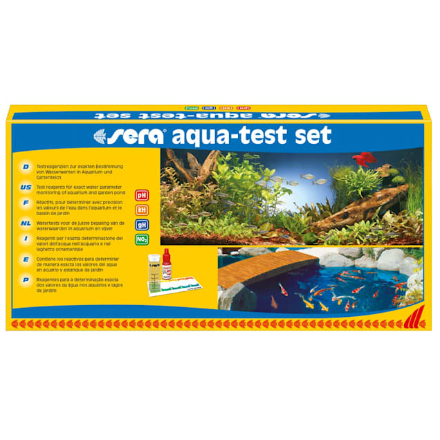 Sera Aqua-Test Set for Saltwater & Freshwater - Carousel image #1