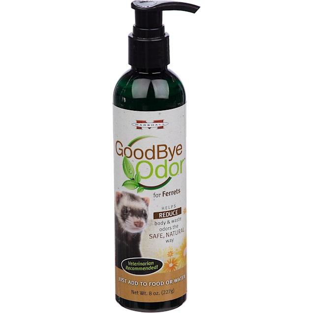 Marshall Pet Products Good Bye Odor Ferret Waste Odor Reducer, 8 fl. oz. - Carousel image #1