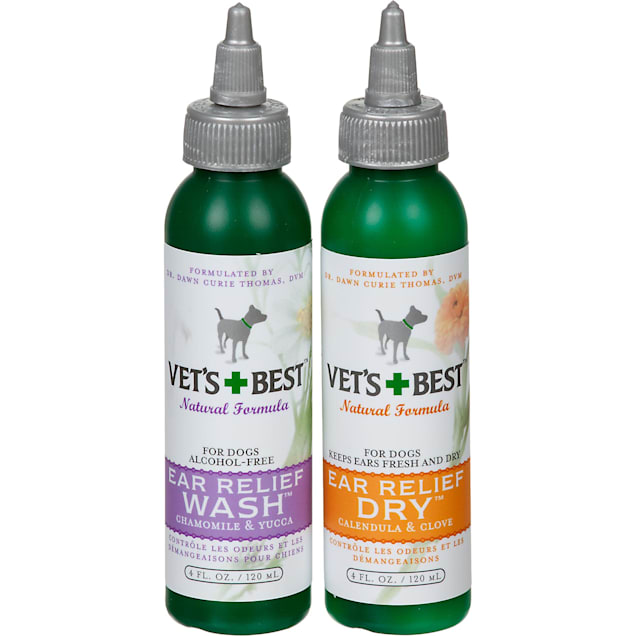 Vet's Best Ear Relief Wash & Dry for Dogs - Carousel image #1