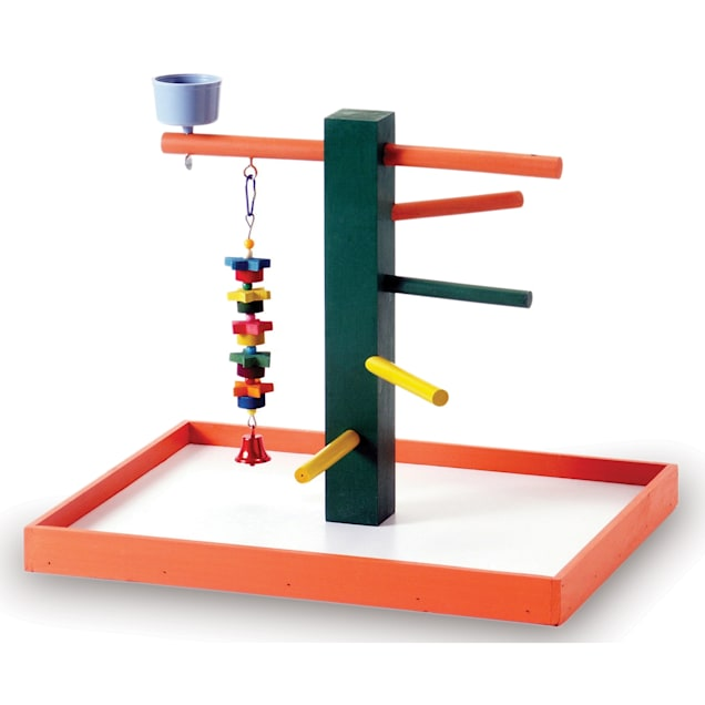 Prevue Pet Products Parrot Big Steps Tabletop Playpen - Carousel image #1