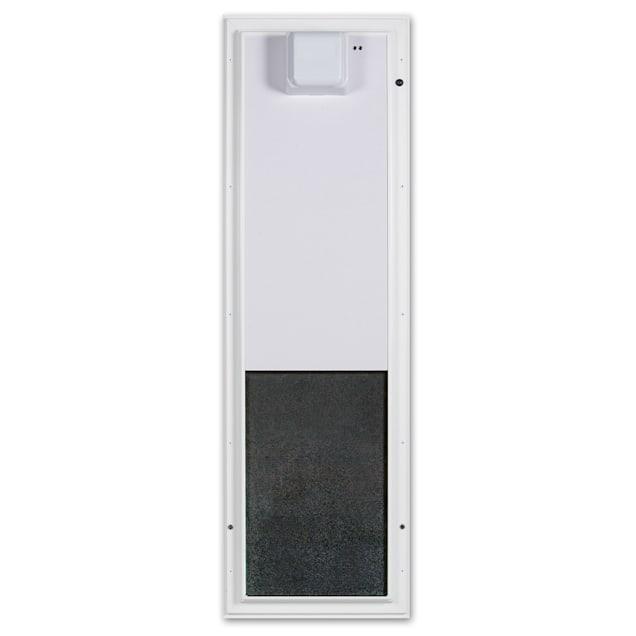 Plexidor Large Door Mount PDE Electronic Pet Door in White - Carousel image #1