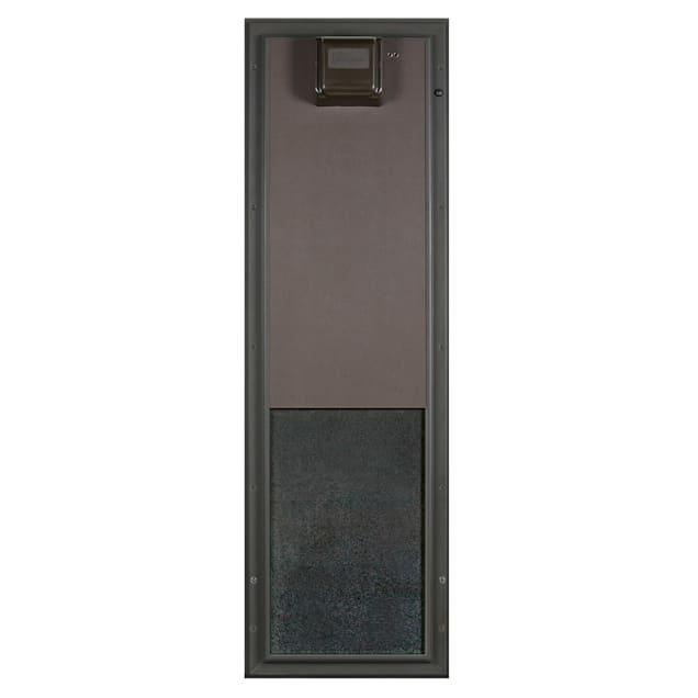 Plexidor Large Door Mount PDE Electronic Pet Door in Bronze - Carousel image #1