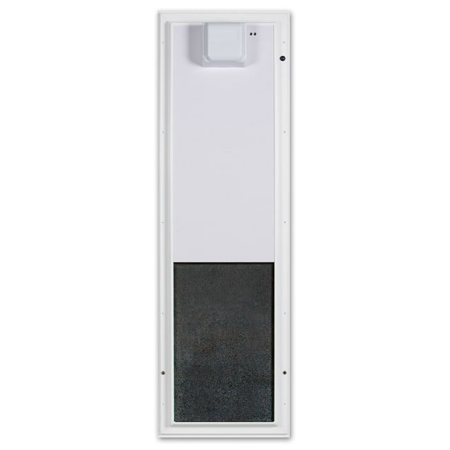 Plexidor Large Wall Mount PDE Electronic Pet Door in White - Carousel image #1