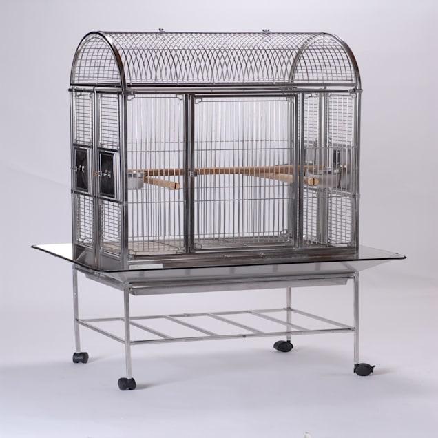 "Caitec Featherland Abbey Bird Cage, 21"" L X 30"" W X 64"" H - Carousel image #1"