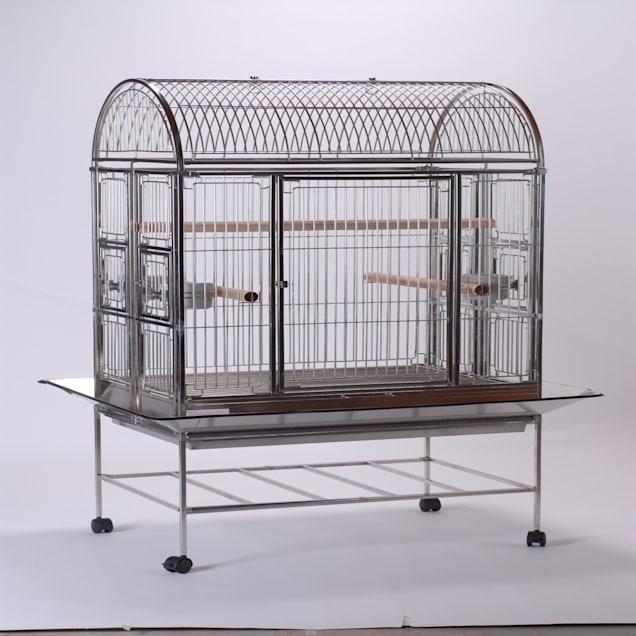 "Caitec Featherland Berkchire Bird Cage, 24"" L X 36"" W X 65"" H - Carousel image #1"