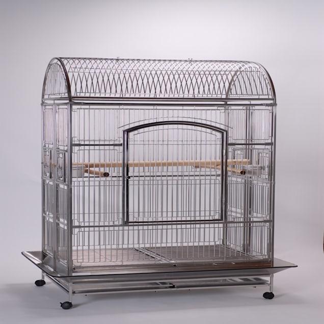 "Caitec Featherland Highland Manor Bird Cage, 32"" L X 48"" W X 74"" H - Carousel image #1"