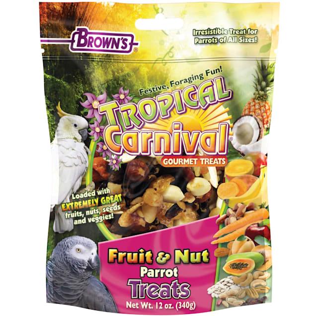 Brown's Tropical Carnival Gourmet Parrot Treats, 12 oz. - Carousel image #1