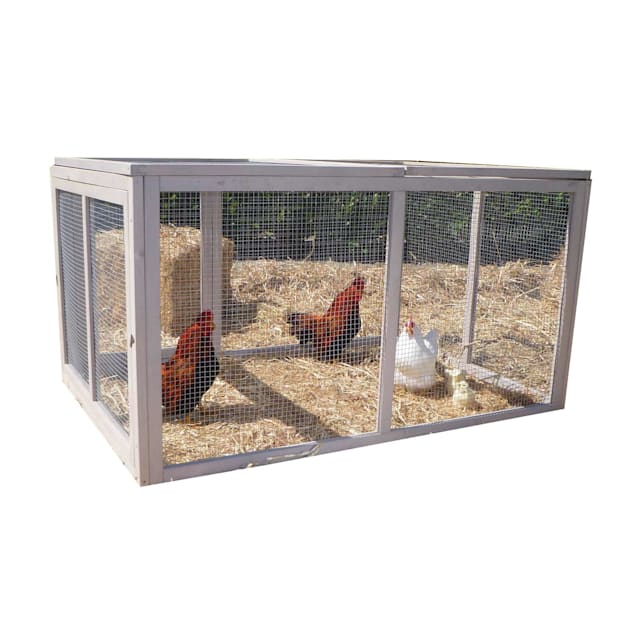 Precision Pet Extreme Hen House Pen in Taupe - Carousel image #1