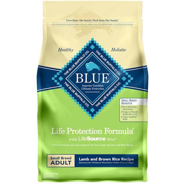 Blue Buffalo Blue Life Protection Formula Adult Small Breed Lamb & Brown Rice Recipe Dry Dog Food, 6 lbs. - Carousel image #1