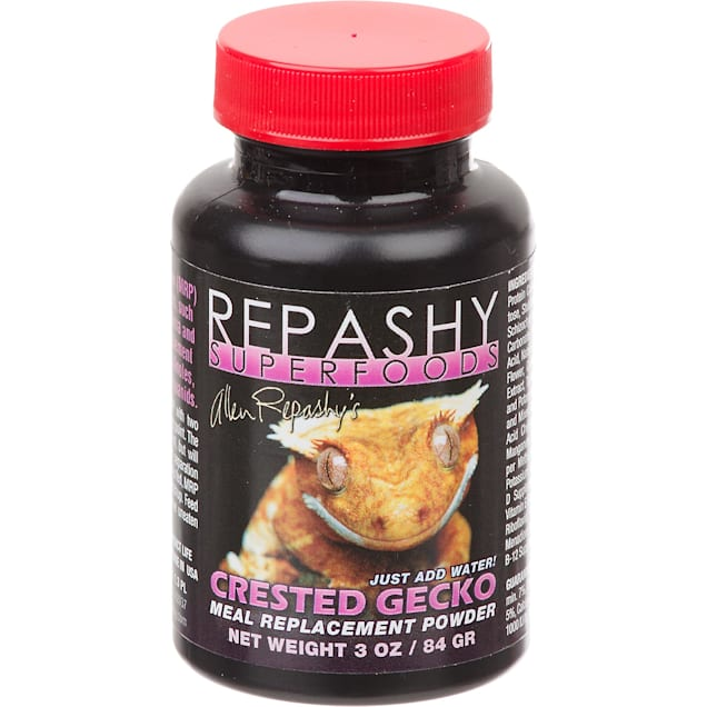 Repashy Super Foods Crested Gecko Meal Replacement Powder, 3 oz. - Carousel image #1