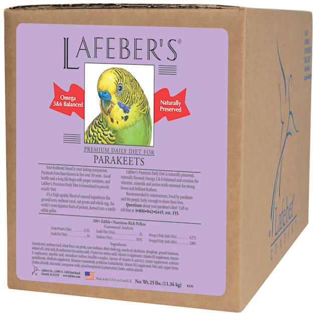 Lafeber's Premium Daily Diet for Parakeets - Carousel image #1
