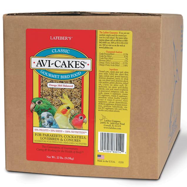 Lafeber's Original Flavor Avi-Cakes for Parakeets, Cockatiels & Conures - Carousel image #1