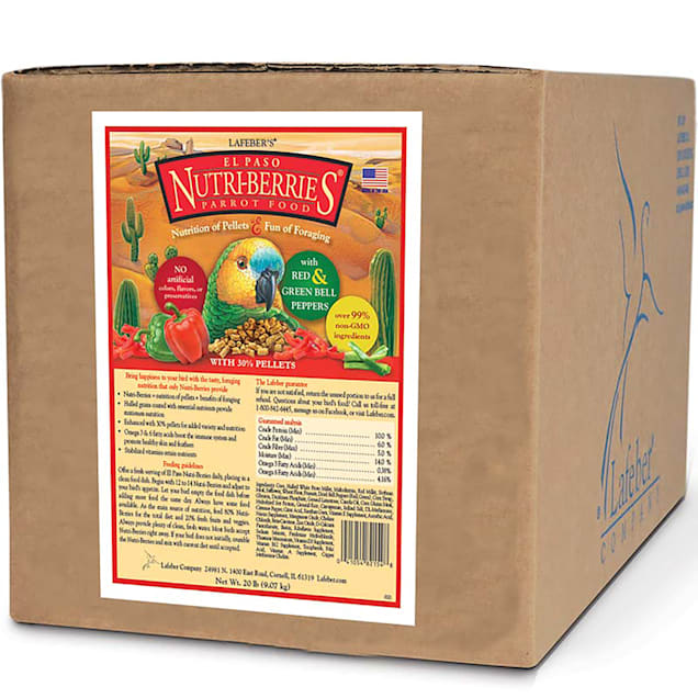 Lafeber's El Paso Nutri-Berries with Bell Peppers Parrot Food - Carousel image #1