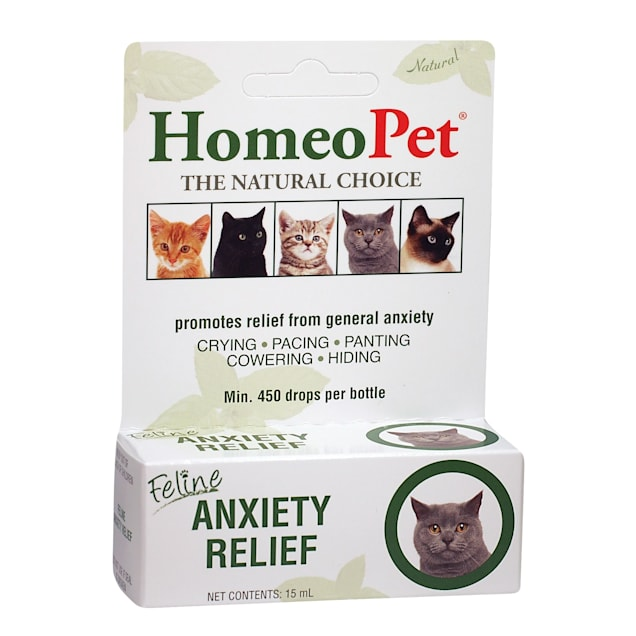 HomeoPet Feline Anxiety Relief for Cats, 0.51 oz. - Carousel image #1