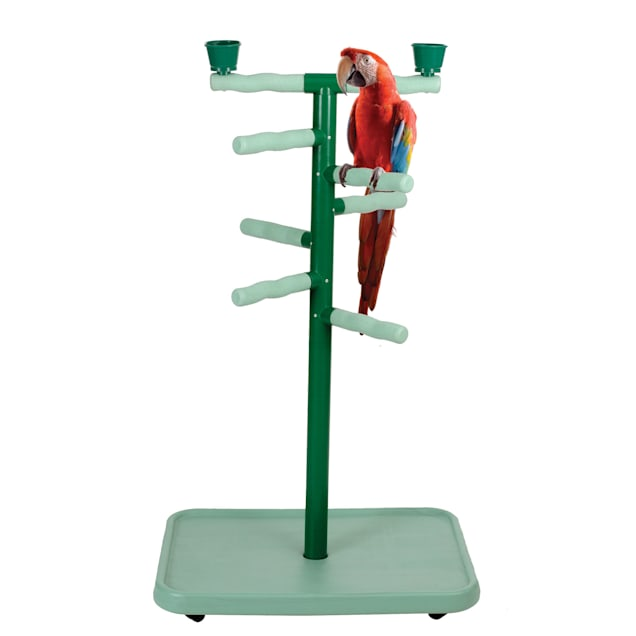 """Caitec Acrobird Large Floor Stand Play Tower, 32"""" L X 22"""" W X 54"""" H - Carousel image #1"""