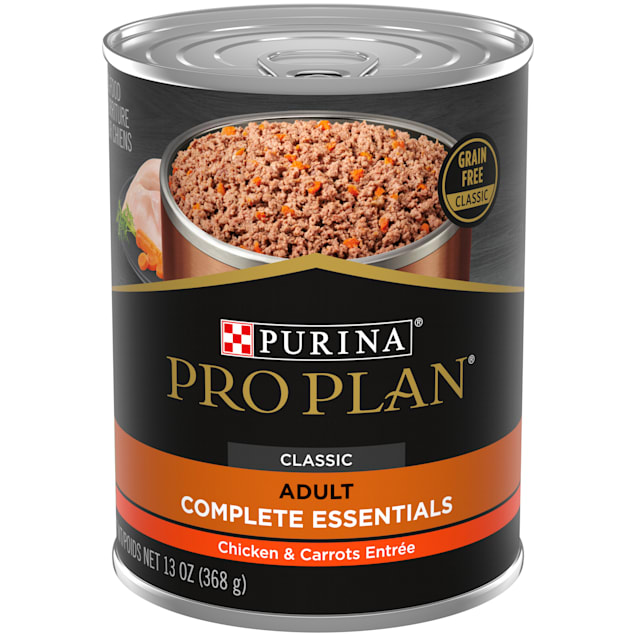 Purina Pro Plan Grain Free Pate Savor Chicken & Carrots Entree Wet Dog Food, 13 oz. - Carousel image #1