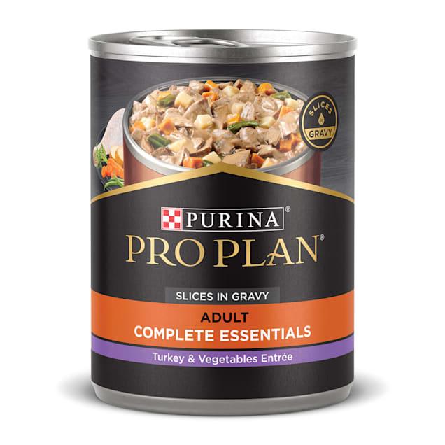 Purina Pro Plan Grain Free Pate SAVOR Classic Turkey & Sweet Potato Entree Wet Dog Food, 13 oz., Case of 12 - Carousel image #1