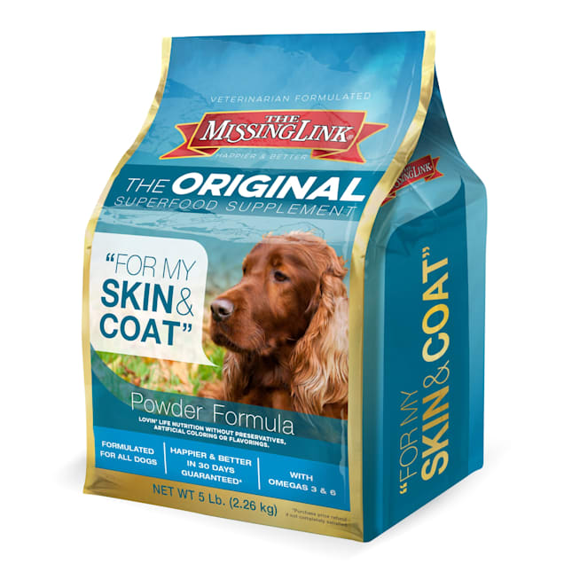 The Missing Link Original Superfood Skin & Coat Supplement for Dogs, 5 lbs. - Carousel image #1