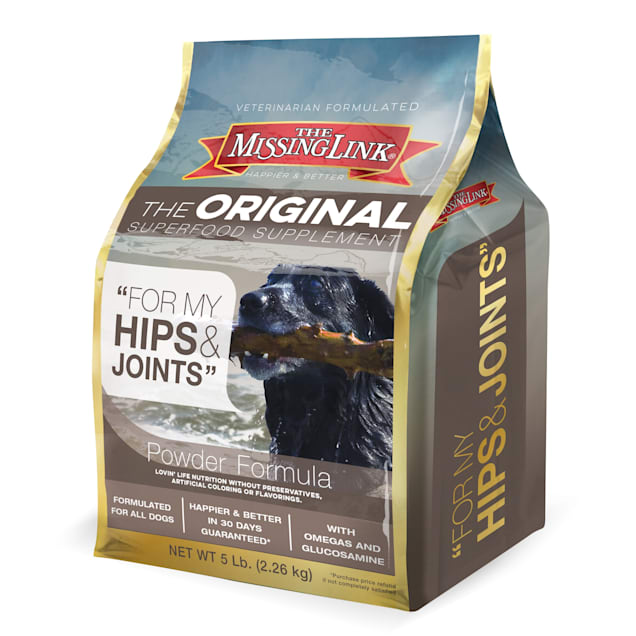 The Missing Link Original Superfood Supplement for Hips & Joints for Dogs, 5 lbs. - Carousel image #1