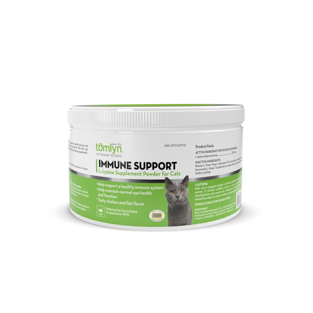 Tomlyn Immune Support L-Lysine Powder for Cats, 3.5 oz. - Carousel image #1