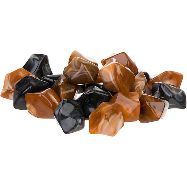 Petco Aquarium Toffee Swirl Stones Gravel Accents - Carousel image #1