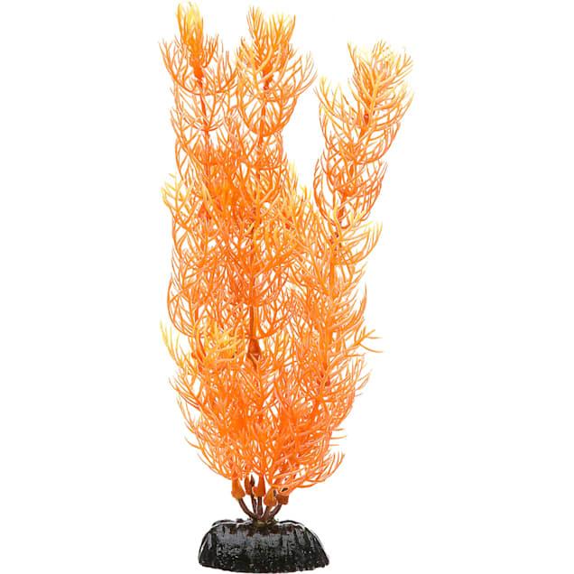 Imagitarium Orange Corkscrew Val Midground Plastic Aquarium Plant - Carousel image #1