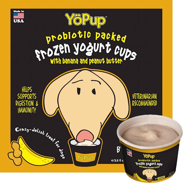 Yoghund YoPup Frozen Banana & Peanut Butter Yogurt Cups for Dogs, 3.5 fl. oz. - Carousel image #1