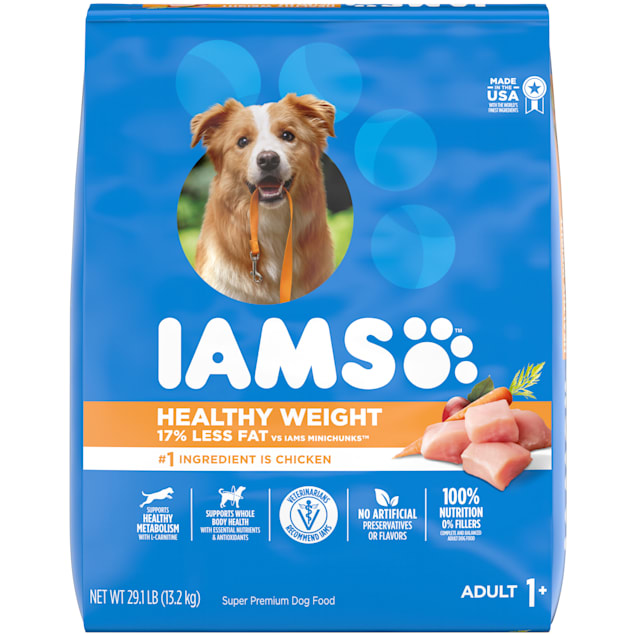 Iams ProActive Health Weight Control with Real Chicken Adult Dry Dog Food, 29.1 lbs. - Carousel image #1