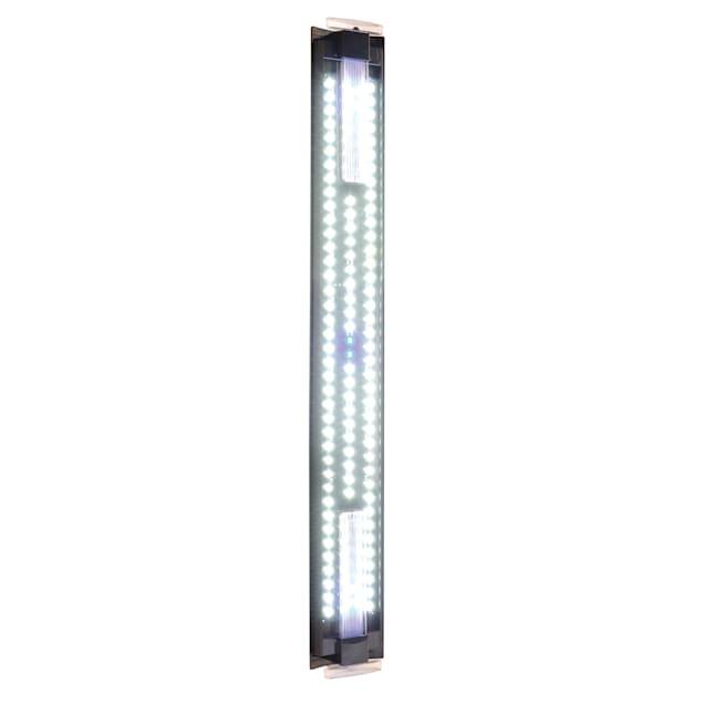 "Fluval Ultra Bright LED Aquarium Strip Light, Adjustable From 36""- 48"" L X 5"" W X .75"" H - Carousel image #1"