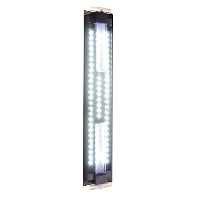 "Fluval Ultra Bright LED Aquarium Strip Light, Adjustable From 24"" - 36"" L X 5"" W X .75"" H - Carousel image #1"
