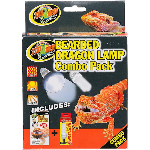 Zoo Med Bearded Dragon Lamp Combo Pack, Pack of 2 bulbs - Carousel image #1