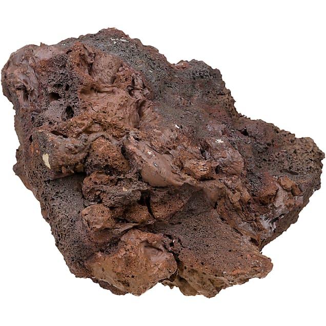 "North American Pet Red Lava Rock, 6"" L X 5"" W X 4"" H - Carousel image #1"