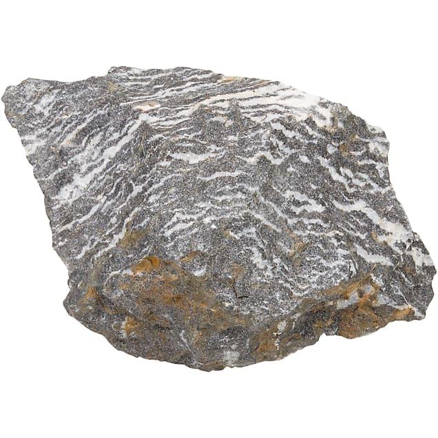 "North American Pet Zebra Rock, 6"" L X 4.5"" W X 4"" H - Carousel image #1"